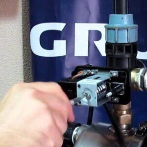 Датчик давления воды в системе водоснабжения